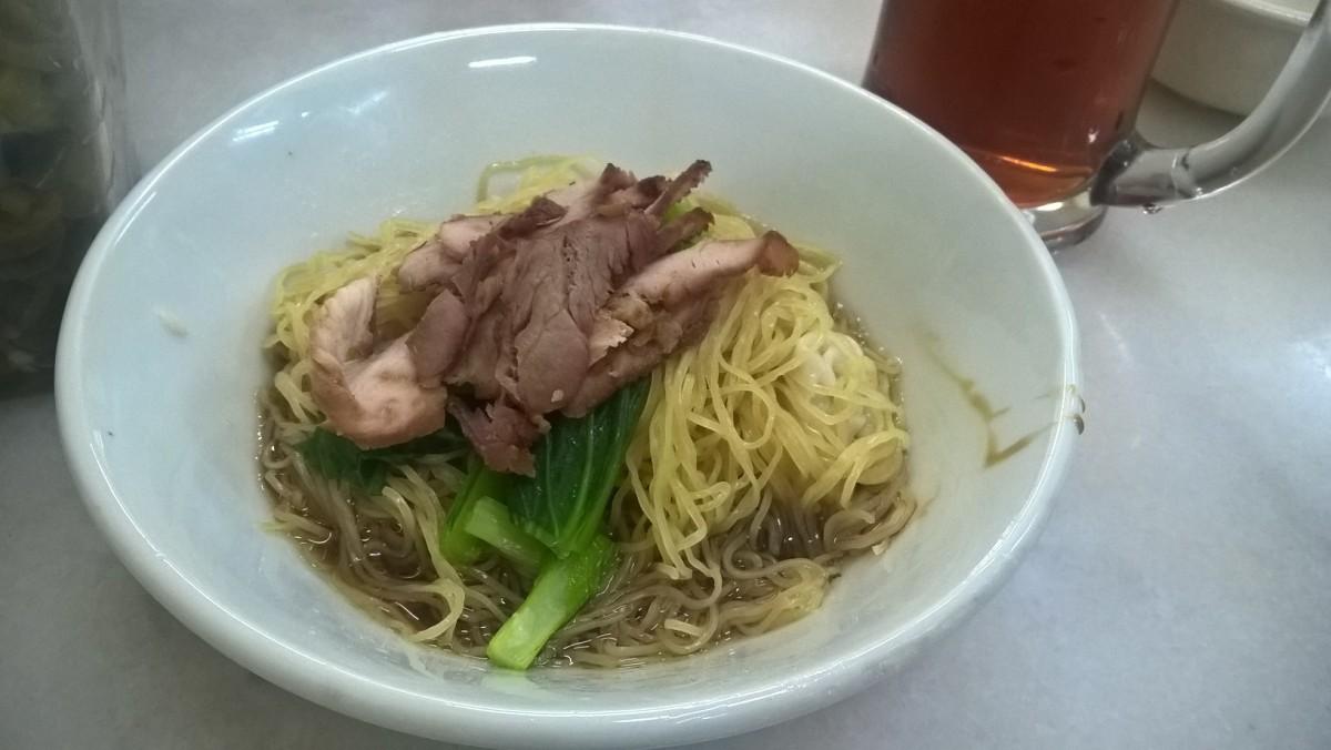ペナンでワンタン麺を食べるなら Penang Hong Kee Bamboo Wanton Mee