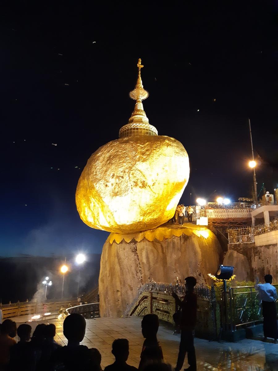ペナンからミャンマーへ旅行する《⑤チャイティーヨー・ゴールデンロック編》Golden Rock Kyaiktiyo