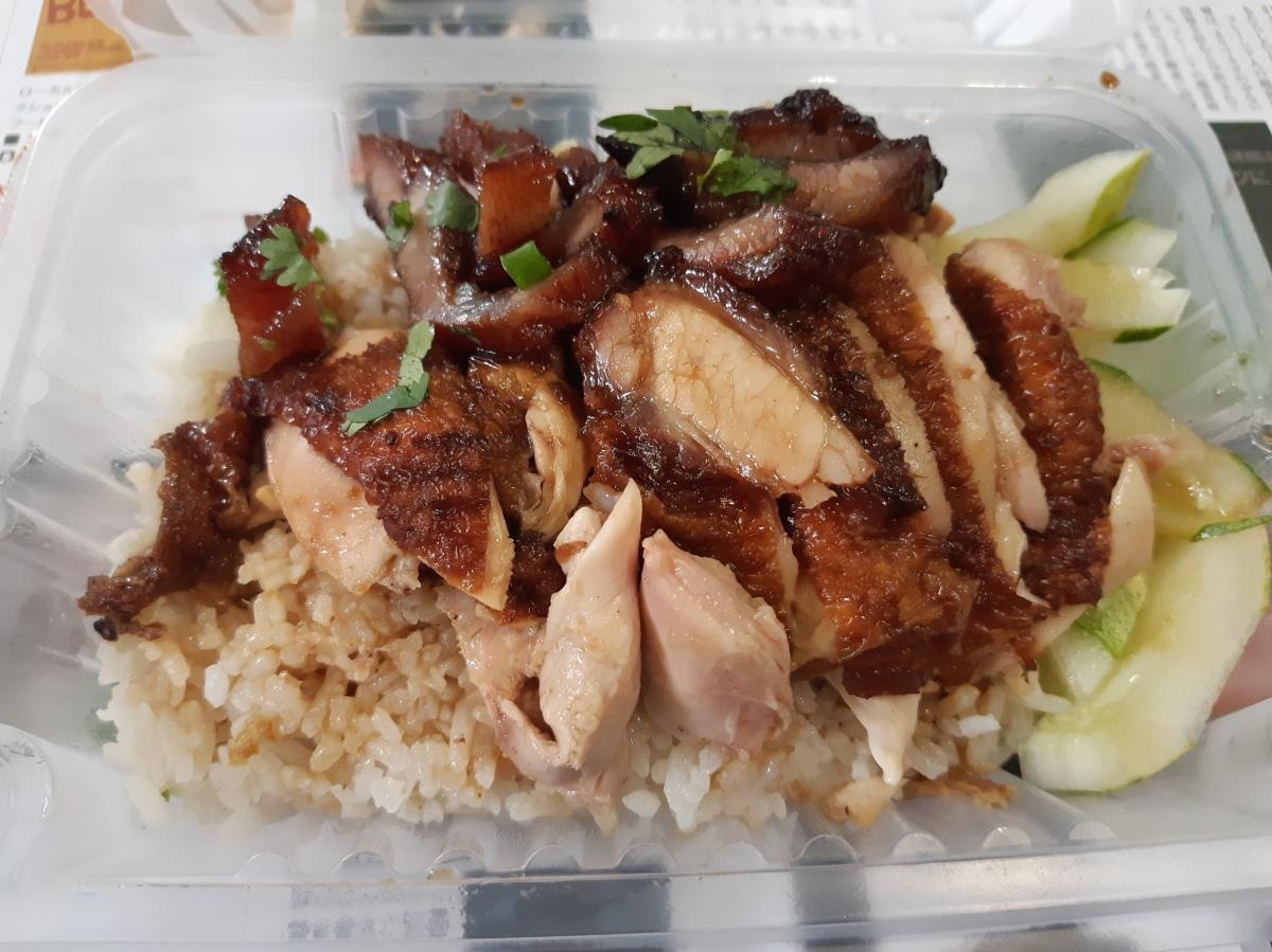 日本語カタコト ポーク・チキンライス屋さん 格成海南鶏飯 Kek Seng Hainan Chicken Rice