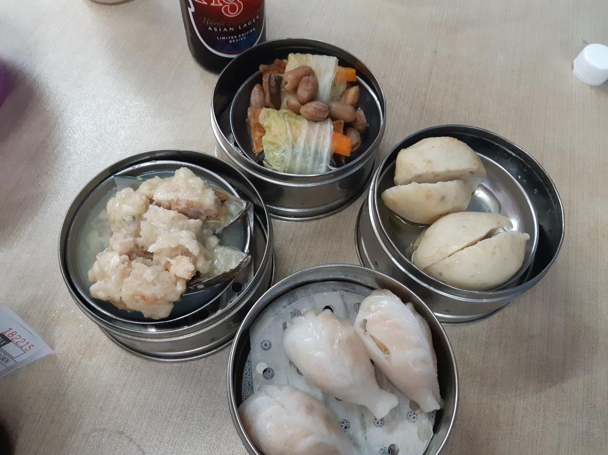 久々に大東酒楼で飲茶を  Tai Tong Penang Dim Sum