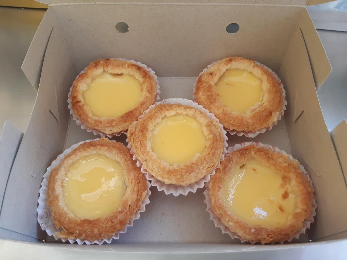 Hong Kee のエッグタルトはいかが? Penang Homemade Egg Tart