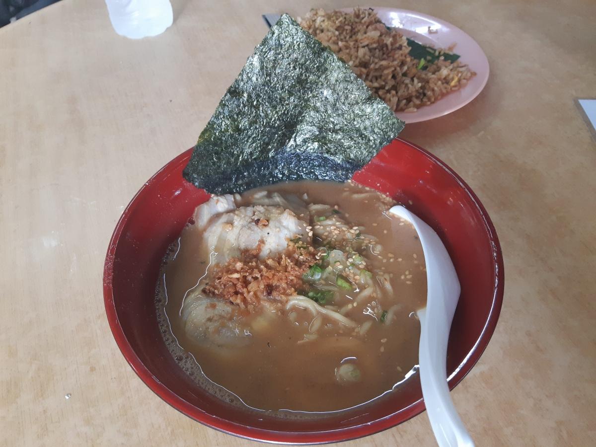 ペナンの日式屋台ラーメン 東花輪 Japanese Ramen Stall in Pulau Tikus Penang