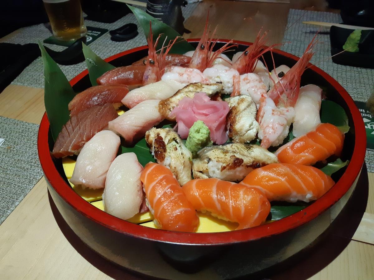 ペナンで握り寿司を食べるなら秋吉 Akiyoshi Automall Penang