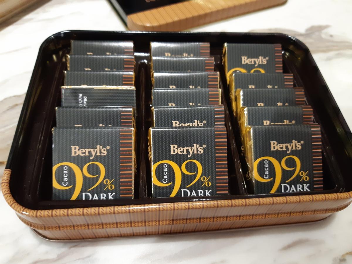 マレーシアブランドのチョコレート「ベリル'ズ」をお土産に 99%カカオは希少ですBeryl's Chocolate Malaysia Penang Branch Love Lane