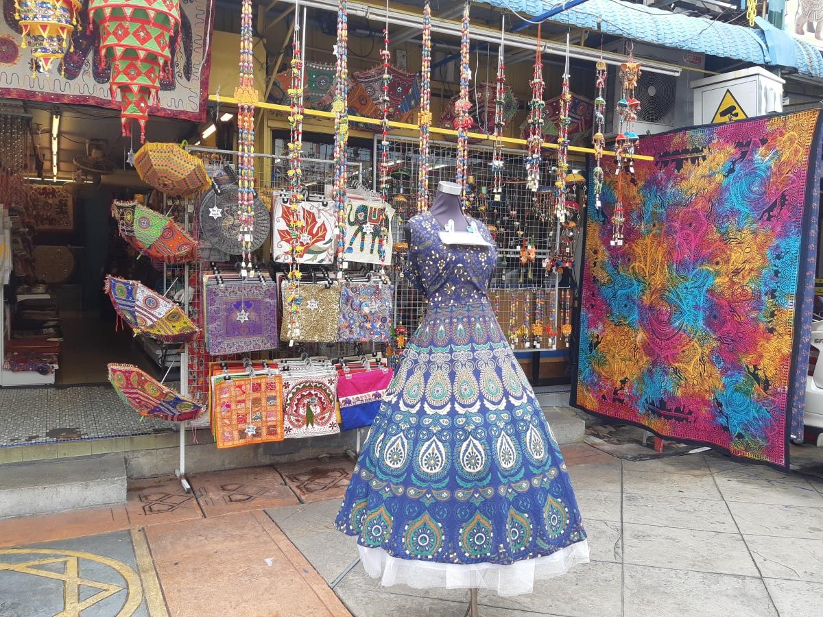 ペナン・インド人街の雑貨屋さんを覗いてみた San Arts Handcrafts Little India Penag
